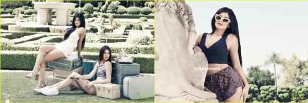 voici un nouveau photoshoot de kylie et kendall pour Pacsun Collection Eté 2015.