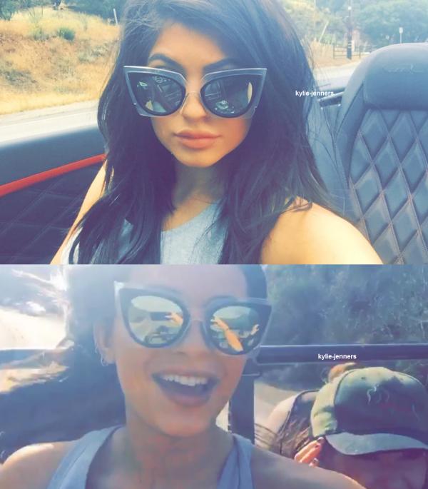 le 16 mai 2015 - Kylie au Nobu à Malibu