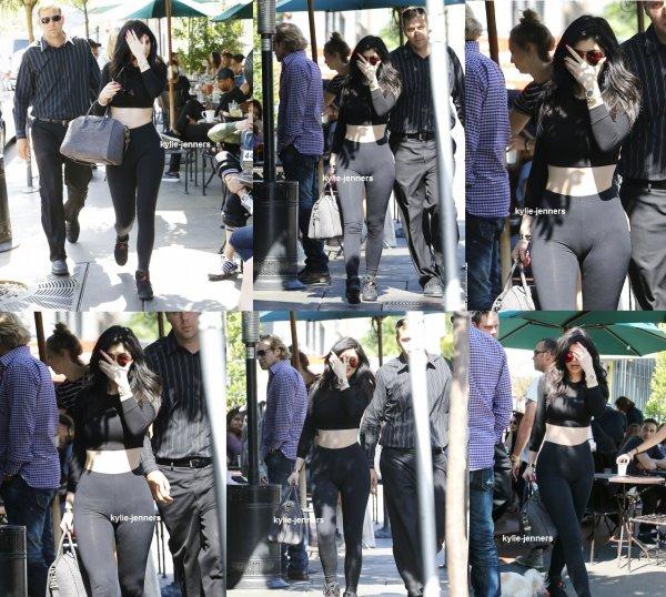 le 28 mai 2015 - Kylie et Pia Mia dans West Hollywood, en Californie