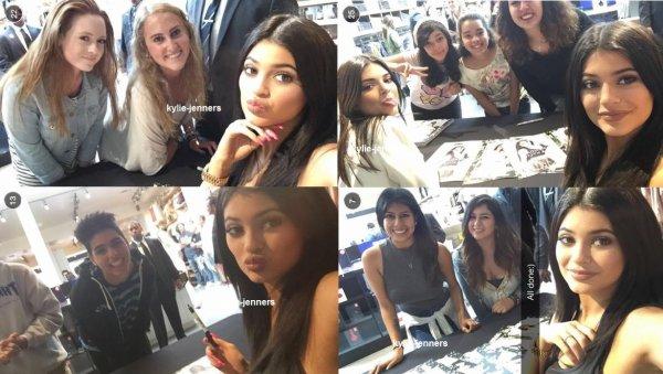 le 30 mai 2015 - Kylie et kendall à leur rencontre Pacsun et saluer à Santa Monica, CA