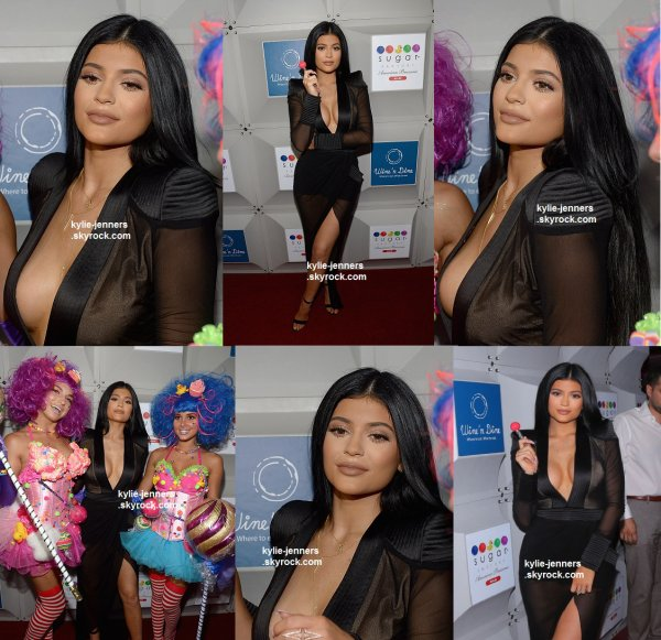 le 19 juin 2015 - la sexy Kylie à l'ouverture Sugar Factory à l'Hôtel Victor