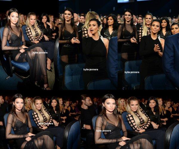 le 15 juillet 2015 - la princesse Kylie au 2015 ESPYs Arrivée