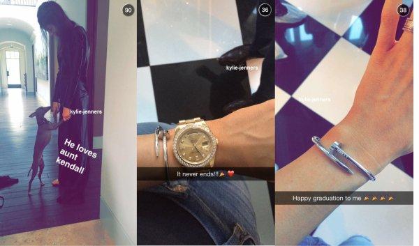 Photos de Kylie pour email Kendall + Kylie ligne de vêtements