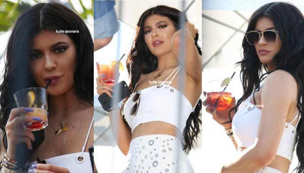le 16 aout 2015 - Kylie au Parti 18ème anniversaire officiel pour Kylie Jenner Au Beach Club à Montréal.