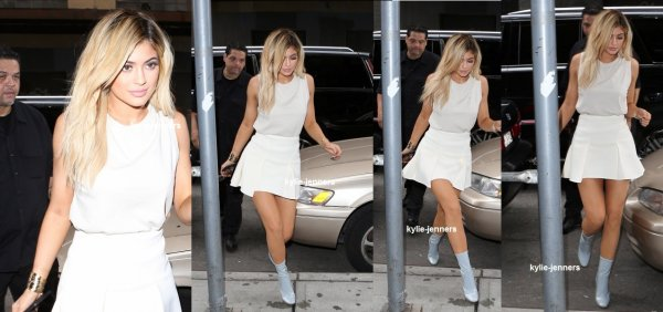 le 13 septembre 2015 - Kylie laissant Jeffrey à New York