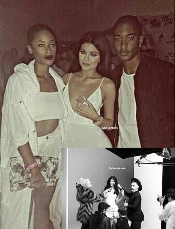 le 26 septembre 2015 - Kylie à la fête d'anniversaire Jordyn Woods à Los Angeles