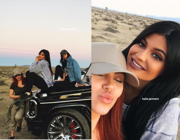 le 6 octobre 2015 - Kylie dans Beverly Hills