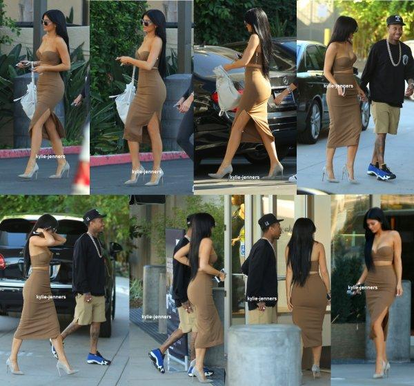 le 13 octobre 2015 - Kylie & Tyga dans LA