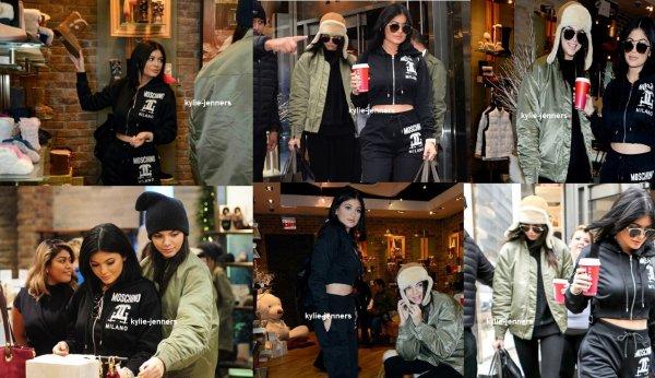 le 12 novembre 2015 - kylie dans new-york