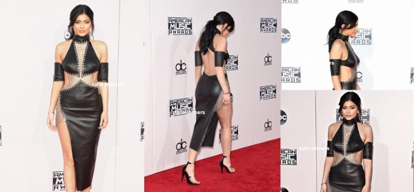le 22 novembre 2015 - la princesse kylie aux American Music Awards à los angeles