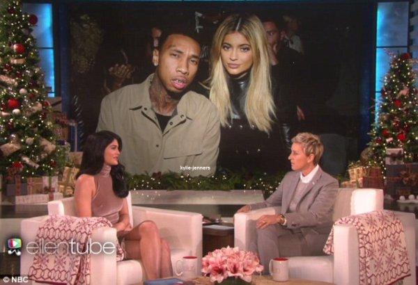 le 25 novembre 2015 - kylie au The Ellen Degeneres Show