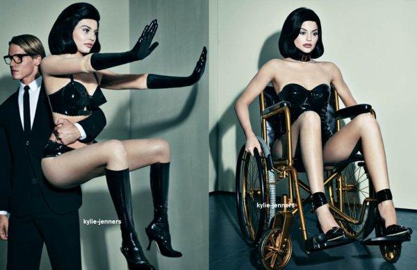 voici un nouveau photoshoot sexy de kylie pour for Interview Magazine datand du mois 2016