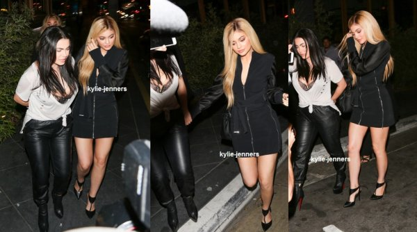 le 24 mars 2016 - kylie quittant le sushi roku à west hollywood