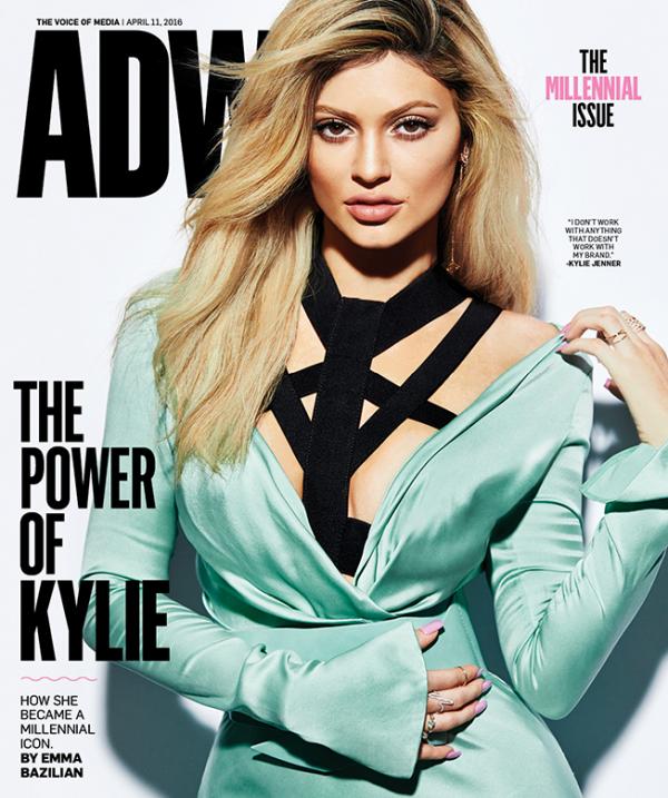 kylie fait la couverture de marie claire pour le mois de mai 2016