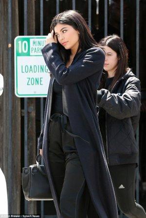 le 13 avril 2016 - Kylie laissant un studio à Van Nuys