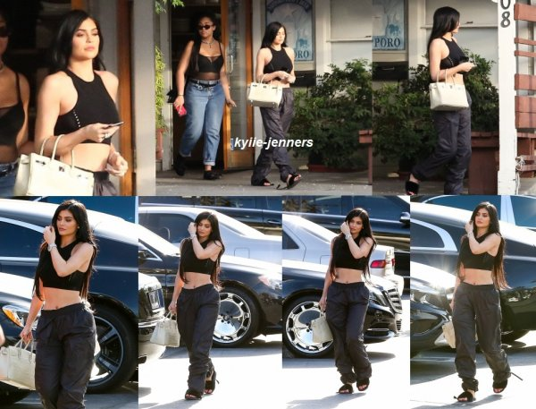 le 27 avril 2017 - kylie dans los angeles