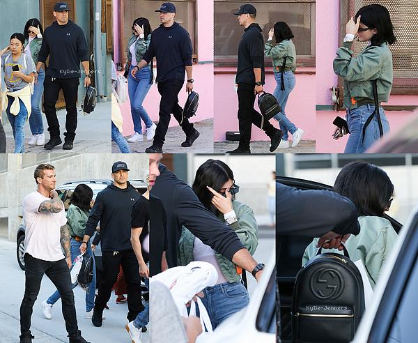 Le 11 juin 2017 - Kylie a été vue arrivant, puis repartant au musée de la glace, à Los Angeles.