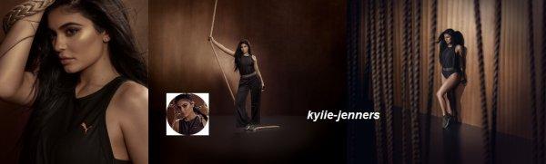 voici un nouveau photoshoot de kylie pour Puma Velvet Rope Collection Campaign 2017