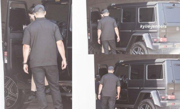 le 23 juillet 2017 - kylie à été vus arriver au Milk Studio à los angeles