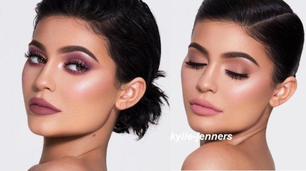 voici un nouveau photoshoot de kylie pour Cosmetics Campaign (Brandon Lundby)