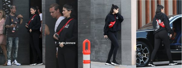 le 30 juillet 2017 - kylie quittant le restaurant nobu à Beverly Hills