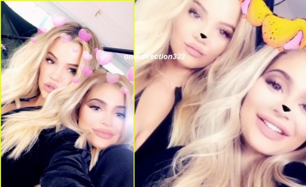 voici une video de kylie et  Khloé Kardashian - Kylie Cosmetics In Love with the Koko Kollection