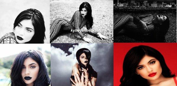 voici un photoshoot de kylie pour Cosmetics Campaign (Sasha Samsonova)