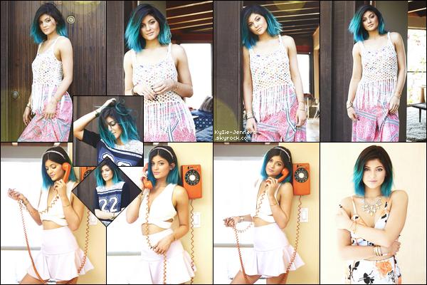 Kylie a posé pour le magazine Gilfriend en 2014.