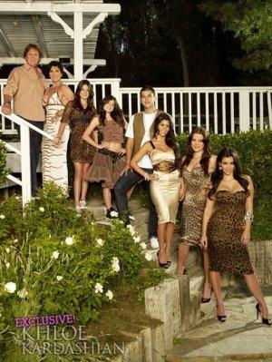 voici le photoshoot de l'incroyable famille kardashian de la saison 1