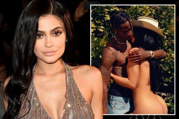 kylie pose nue pour playboys avec travis