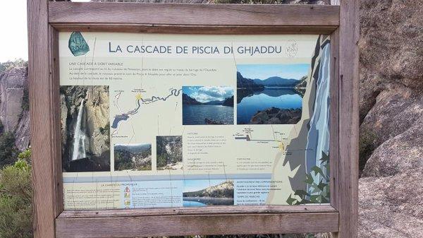 Cani Rando vers La Cascade De Piscia Di Ghjaddu