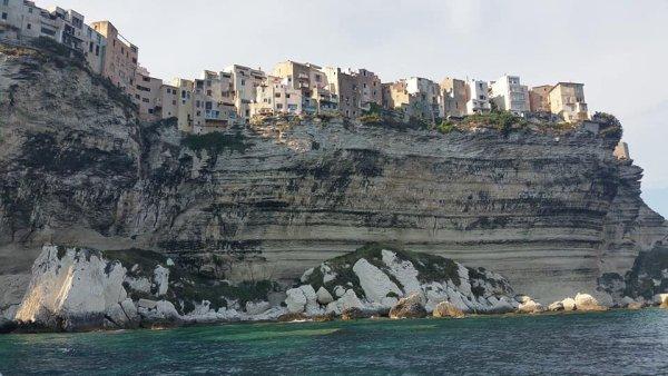 Balade a Bonifacio, plus petit tour en bateau