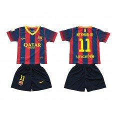 Barcelone Enfant Maillot 2013-2014 Domicile Neymar Pas Cher