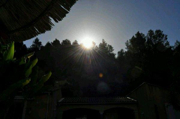 Le beau soleil du var