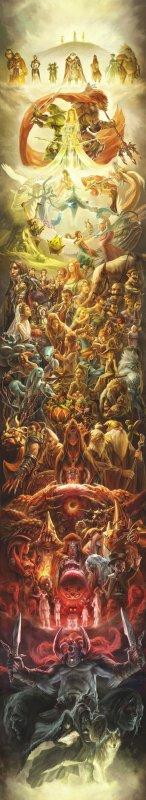 Une fresque en l'honneur de Zelda!!