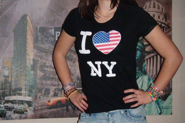 """Teesh """"I Love NY"""" ."""