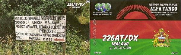 QSL RX DE LA // 226AT/DX  // 164 AT 340
