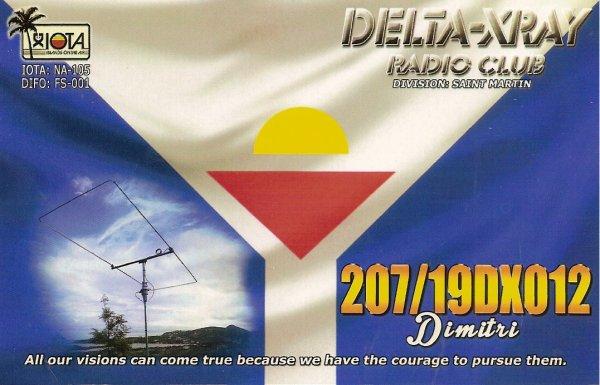 QSL RX DE LA    347/19DX012 / 207/19 DX 012 OP DIMITRI /  348LR002/  91LR191