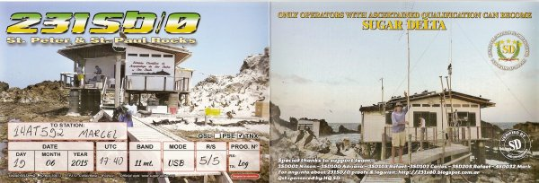 QSL RX DE LA 231 SD/0  ET DE LA   285 SD 101 /  206AT101 /  39 AT102 /   61AT102