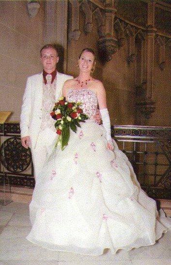 une photo des jeune marié anthony et grazeilla