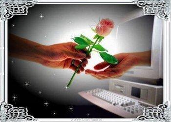 Elle est pour toi cette rose NOISETTE1975