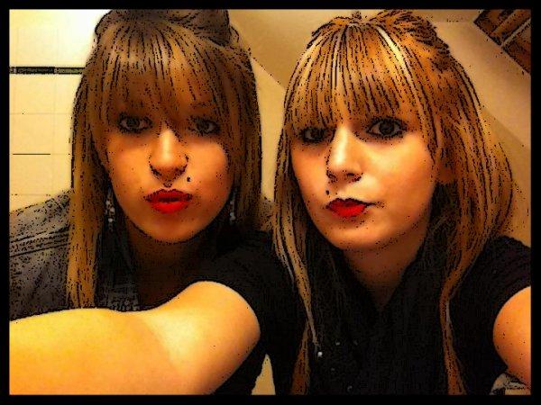 Ma soeur ♥.