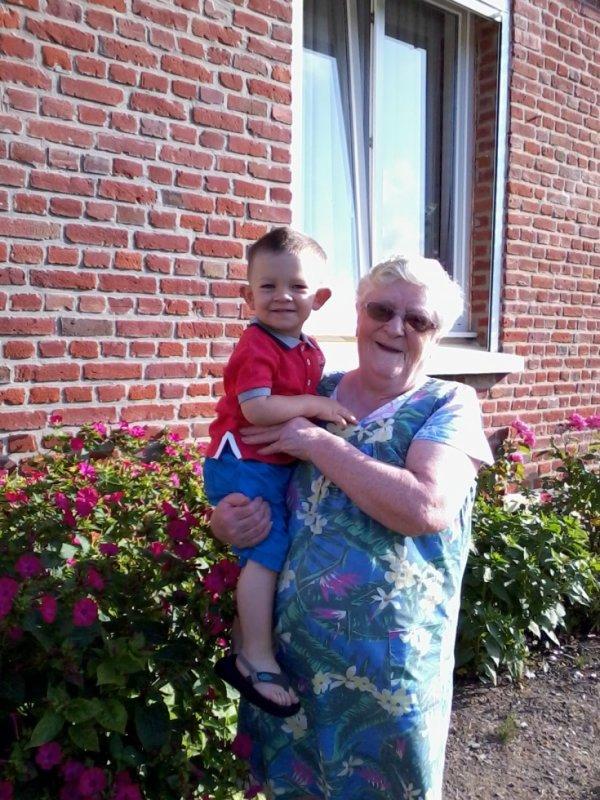 ma mémé et mon fils