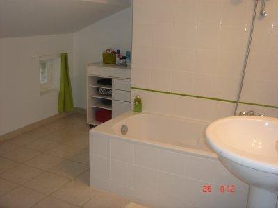 La salle de bains du deuxième étage