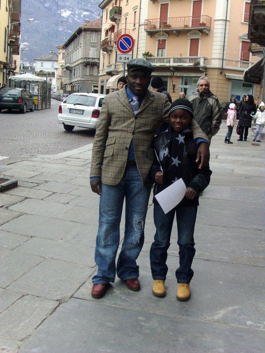 mon grand frère et son fils trixtant