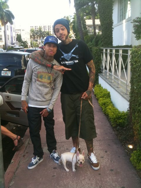Tyga and Travis Mccoy a Marrakech