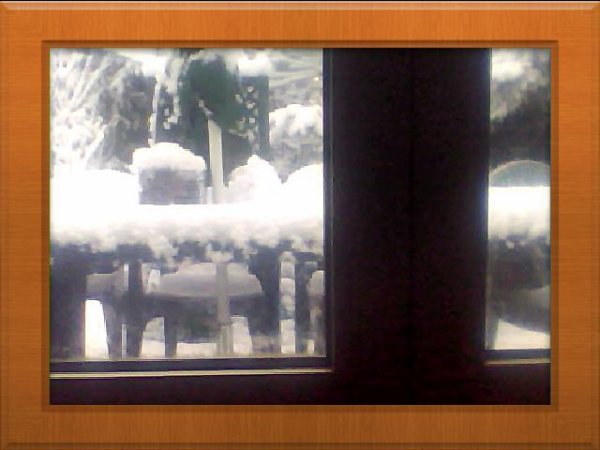 voila la neige