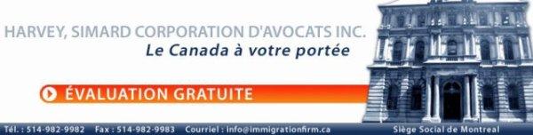 Immigration au Québec ( Avocats en droit de l'immigration 1ère consultation gratuite. )