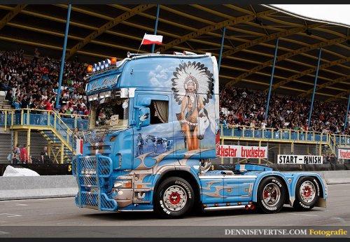 Trans Powisle Scania R V8