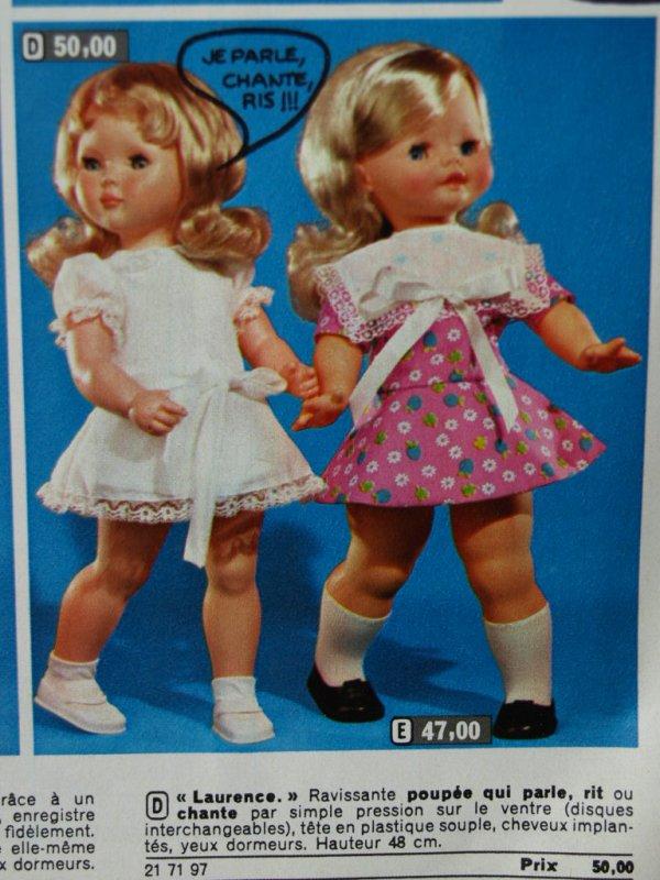 catalogue jouets au bon marché 1970